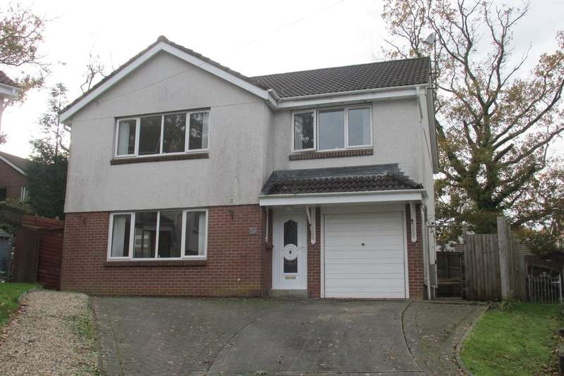 5 Bedrooms Detached House for sale in Clos Cae Dafydd, Gowerton, Swansea