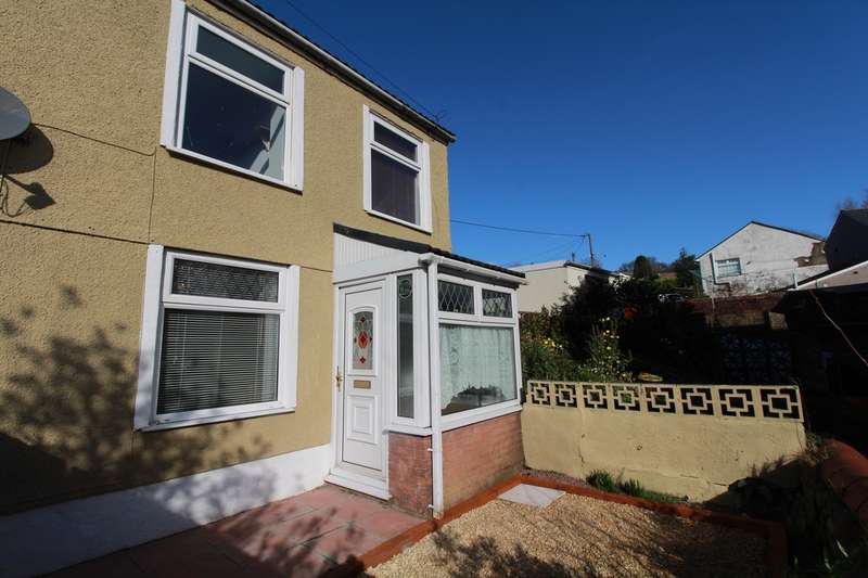 3 Bedrooms Semi Detached House for sale in Primitive Place, Beaufort, Ebbw Vale, NP23