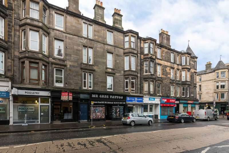 1 Bedroom Flat for sale in Easter Road, Leith, Edinburgh, EH7 5PL