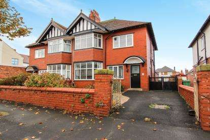 4 Bedrooms Semi Detached House for sale in Rowsley Road, Lytham St Annes, Lancashire, England, FY8