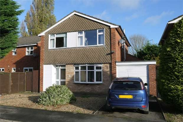 4 Bedrooms Detached House for sale in Elm Drive, Market Harborough, Leicestershire