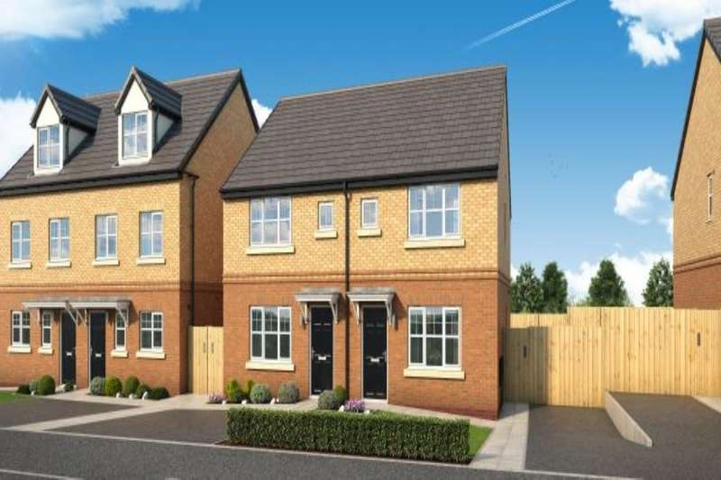 3 Bedrooms Semi Detached House for sale in The Leathley Newbury Road, Skelmersdale, WN8