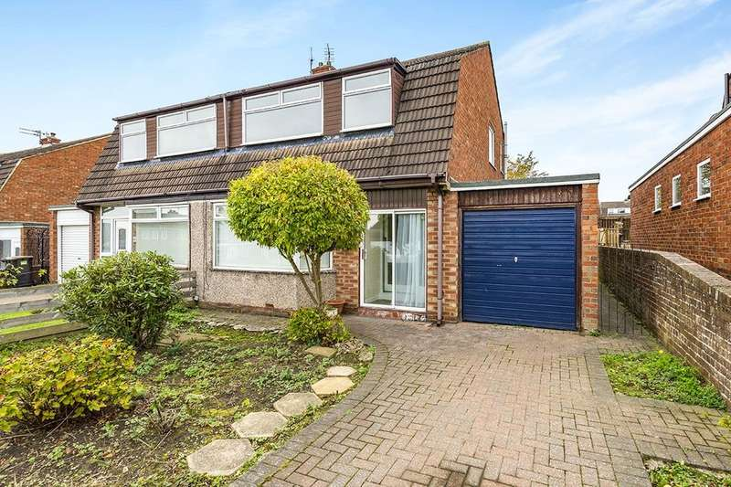 3 Bedrooms Semi Detached House for sale in Arisaig, Ouston, Chester Le Street, DH2