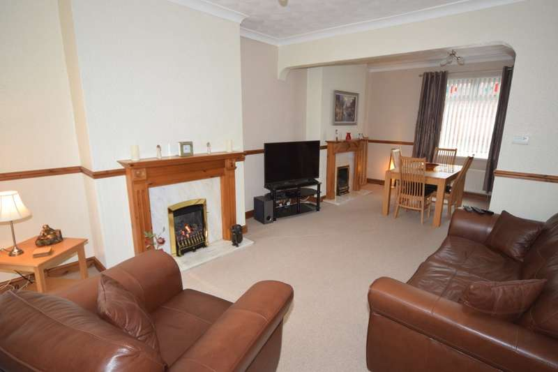3 Bedrooms End Of Terrace House for sale in Holker Street, Barrow-in-Furness, Cumbria, LA14 5RW