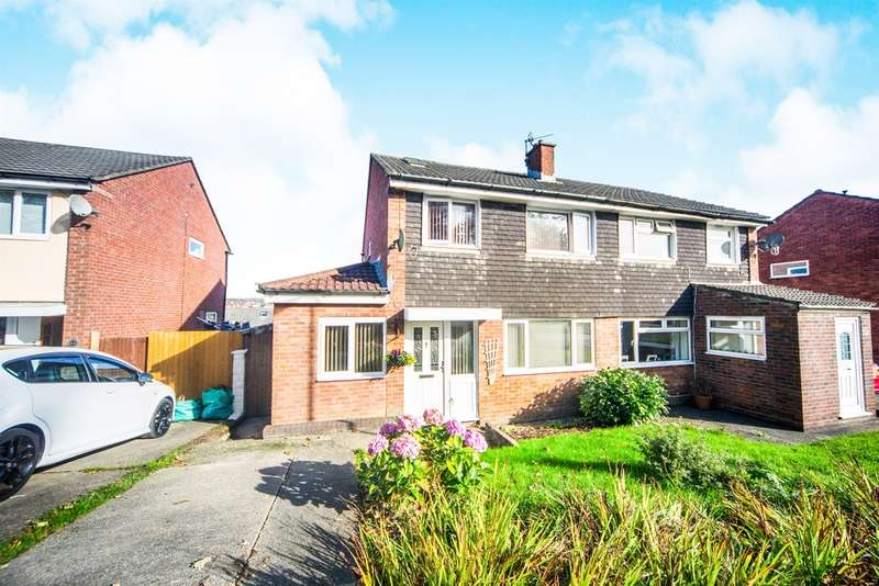 3 Bedrooms Semi Detached House for sale in Caernarvon Court, Caerphilly
