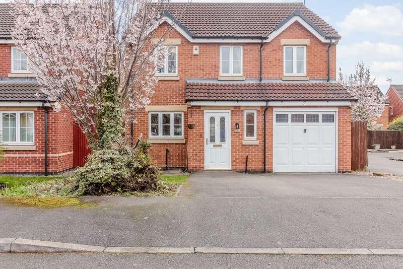 4 Bedrooms Detached House for sale in Kiwi Drive, Derby, Derbyshire, DE24