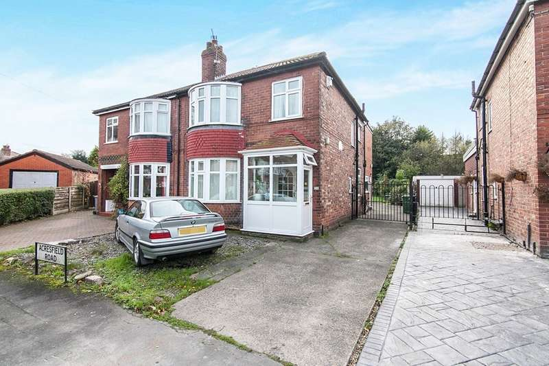 4 Bedrooms Semi Detached House for sale in Acresfield Road, Timperley, Altrincham, WA15