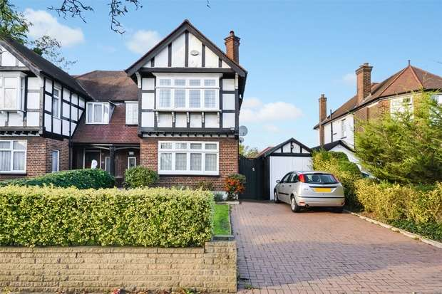 3 Bedrooms Semi Detached House for sale in East Lane, Wembley, Middlesex