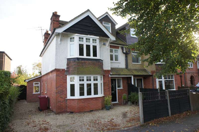 4 Bedrooms Semi Detached House for sale in Morecambe Avenue, Caversham Heights