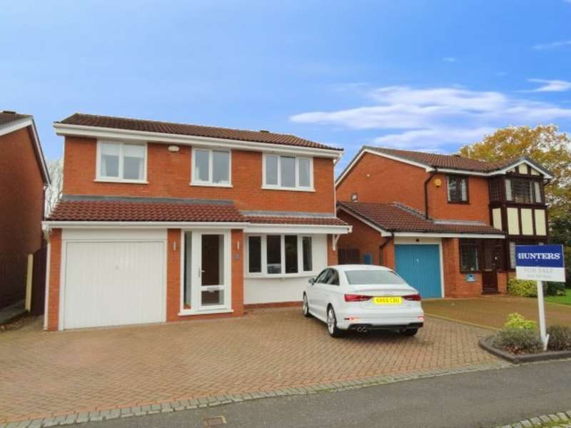4 Bedrooms Detached House for sale in Oldberrow Close, Monkspath