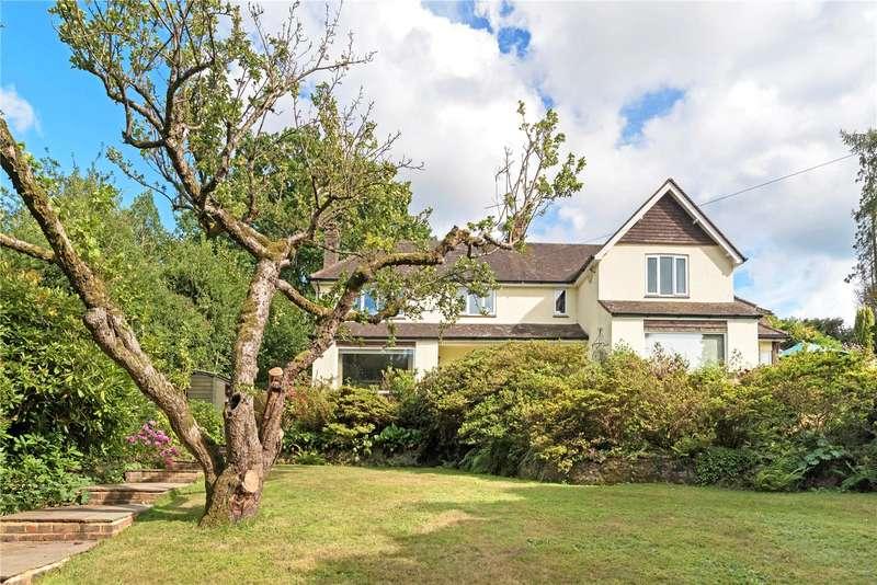 4 Bedrooms Detached House for sale in Peaslake Lane, Peaslake, Guildford, Surrey, GU5