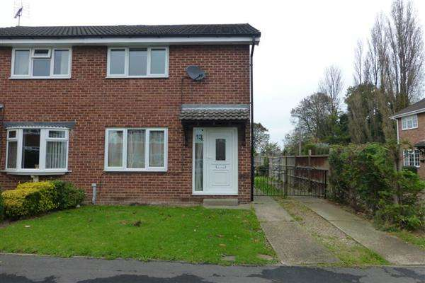 2 Bedrooms Semi Detached House for sale in Rookery Close, Kiveton Park, Sheffield
