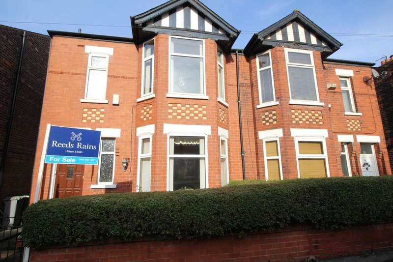 3 Bedrooms Semi Detached House for sale in Railway Road, MANCHESTER, M32