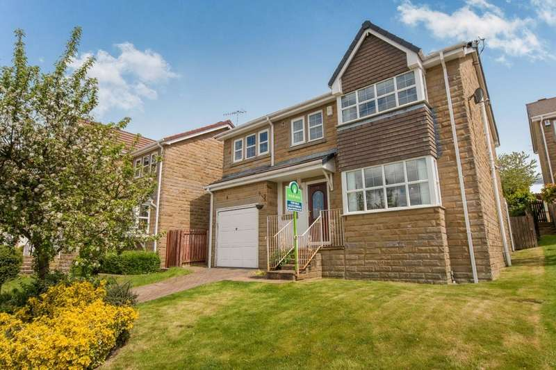 4 Bedrooms Detached House for sale in Low Wood, Wilsden, Bradford, BD15