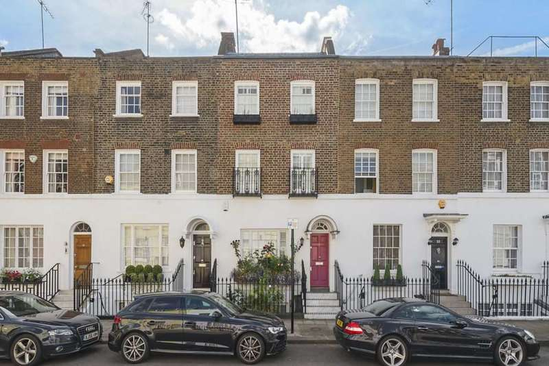 4 Bedrooms House for sale in Montpelier Place, Knightsbridge, SW7