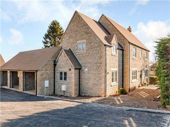 4 Bedrooms Detached House for sale in Meadow View, Middle Hill, Chalford Hill, STROUD, Gloucestershire, GL6 8BD