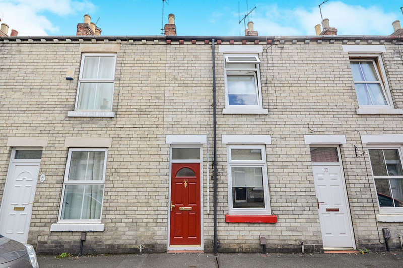2 Bedrooms Terraced House for sale in Falconer Street, York, YO24