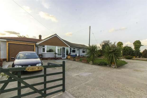 4 Bedrooms Detached Bungalow for sale in Windsor Road, Cliffsend, Ramsgate, Kent