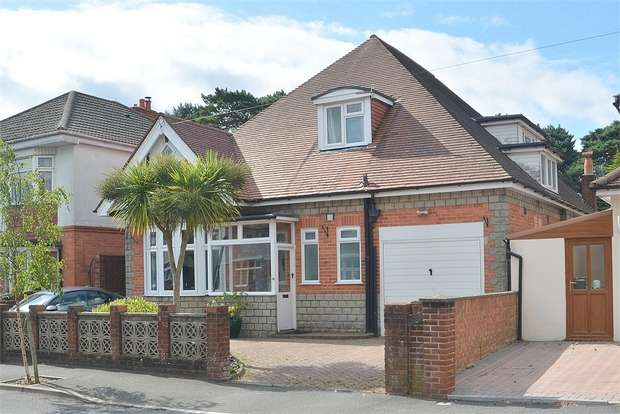 5 Bedrooms Detached House for sale in Brackendale Road, Queens Park, Bournemouth