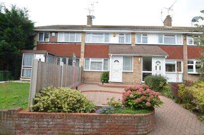 3 Bedrooms Terraced House for sale in Eversley, Pitsea, Essex
