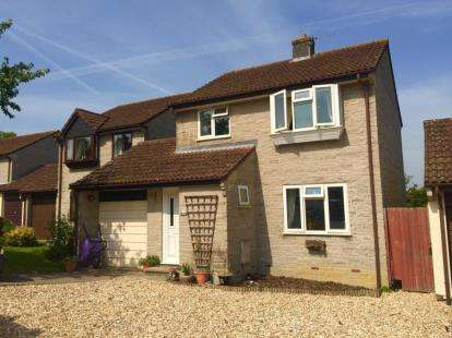 3 Bedrooms Detached House for sale in Butleigh, Glastonbury, Somerset