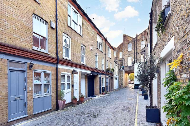 2 Bedrooms Mews House for sale in Wellington Close, London, W11