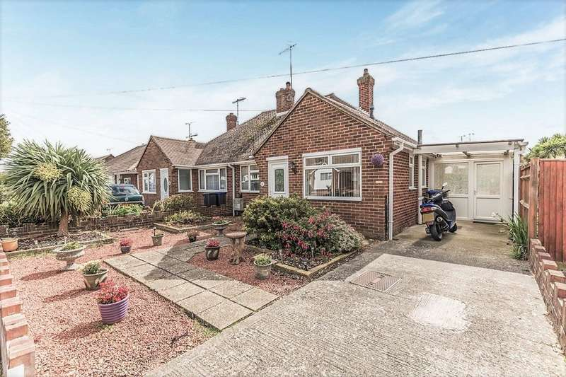 3 Bedrooms Semi Detached Bungalow for sale in Hurley Road, Worthing, BN13