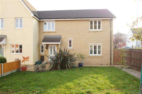 3 Bedrooms End Of Terrace House for sale in Gratian Close, Myland, Colchester