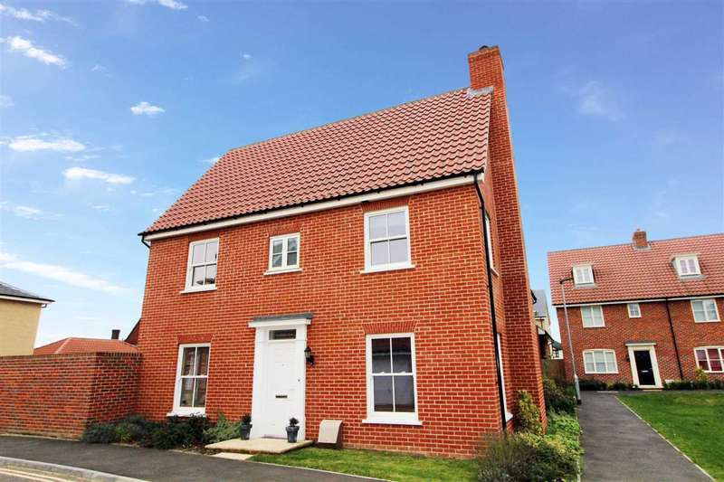 3 Bedrooms Link Detached House for sale in Griffiths Close, Ipswich