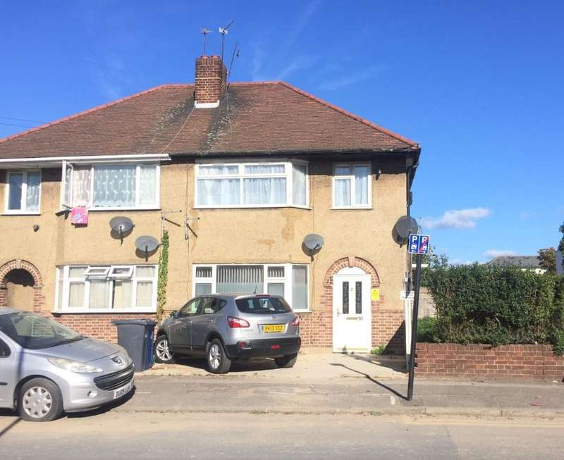 2 Bedrooms Flat for sale in Scotts Road, Southall, Middlesex, UB2 5DG