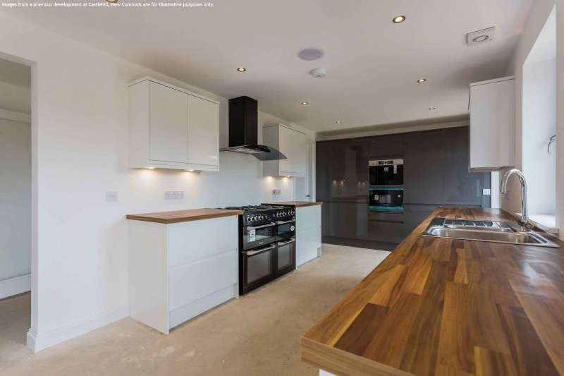 4 Bedrooms House for sale in Fullerton Place, Patna, East Ayrshire, KA6 7NN