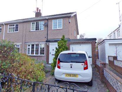 3 Bedrooms Semi Detached House for sale in Waun Road, Glanwydden, Conwy, LL31