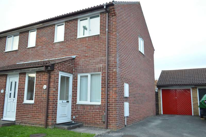 2 Bedrooms Semi Detached House for sale in Foxlea Gardens, Elson