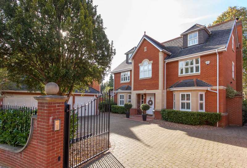 6 Bedrooms Detached House for sale in Dellwood Park, Caversham Heights