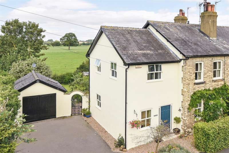 4 Bedrooms Semi Detached House for sale in Main Street, Newton Kyme, Tadcaster, LS24 9LS