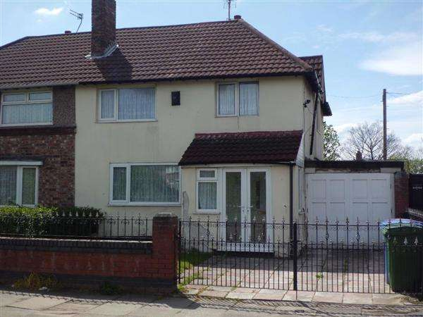 3 Bedrooms Semi Detached House for sale in Queens Drive, Liverpool
