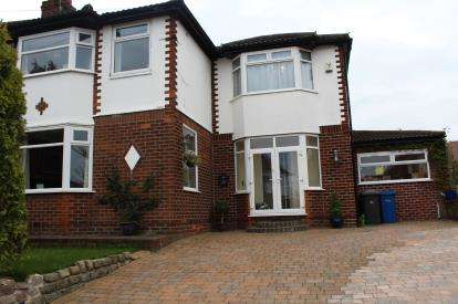 4 Bedrooms Semi Detached House for sale in Waverley Avenue, Appleton, Warrington, Cheshire