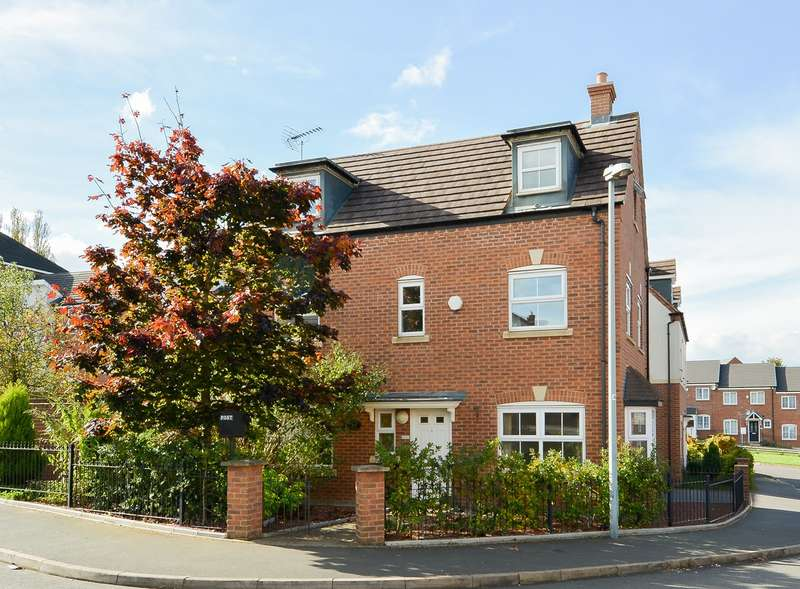 4 Bedrooms Detached House for sale in Maynard Road, Edgbaston, Birmingham, B16