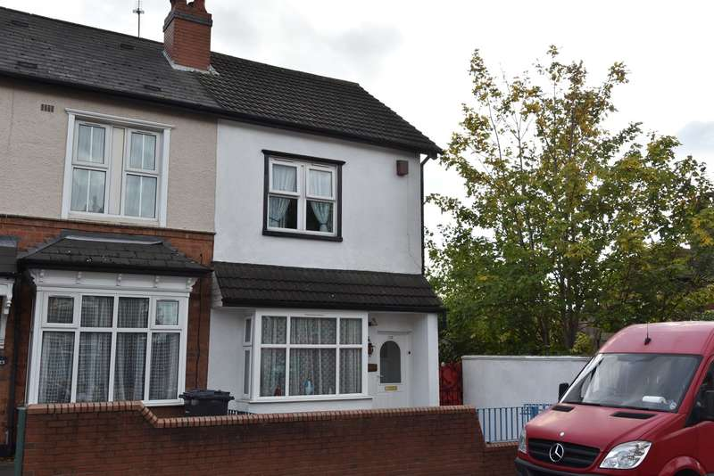 3 Bedrooms End Of Terrace House for sale in Esme Road, Sparkhill, Birmingham, B11