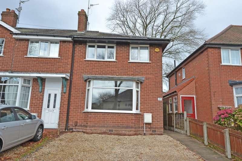 3 Bedrooms End Of Terrace House for sale in Kendal Rise Road, Rednal, Birmingham, B45