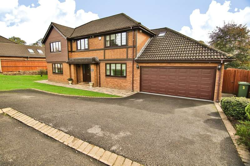 5 Bedrooms Detached House for sale in St Annes Court, Talygarn, Pontyclun