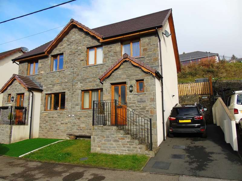 3 Bedrooms Semi Detached House for sale in Park View, Abercynon, Mountain Ash