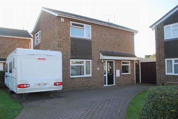3 Bedrooms Detached House for sale in Obelisk Rise, Kingsthorpe, Northampton NN2 8QU