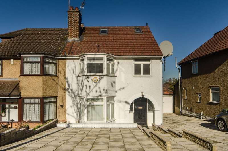 4 Bedrooms Semi Detached House for sale in Paddock Road, Dollis Hill, NW2
