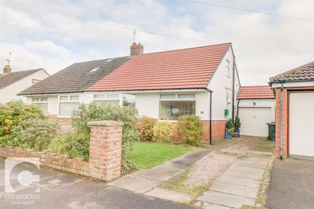 4 Bedrooms Semi Detached Bungalow for sale in Wallcroft, Willaston, Neston, Cheshire
