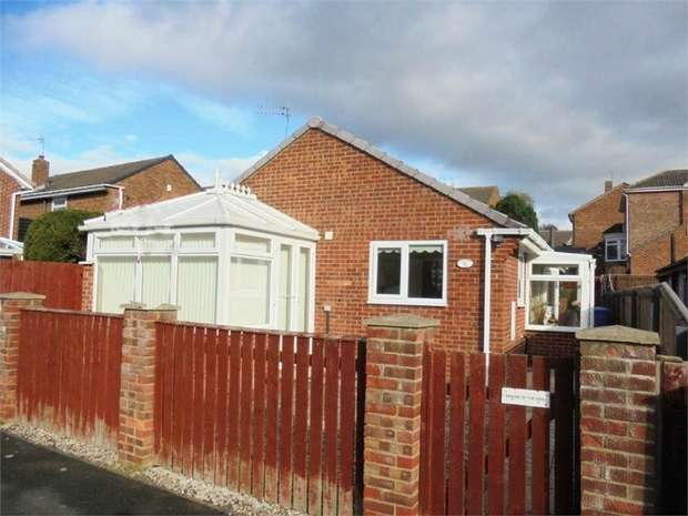 2 Bedrooms Detached Bungalow for sale in Plantation Walk, South Hetton, Durham