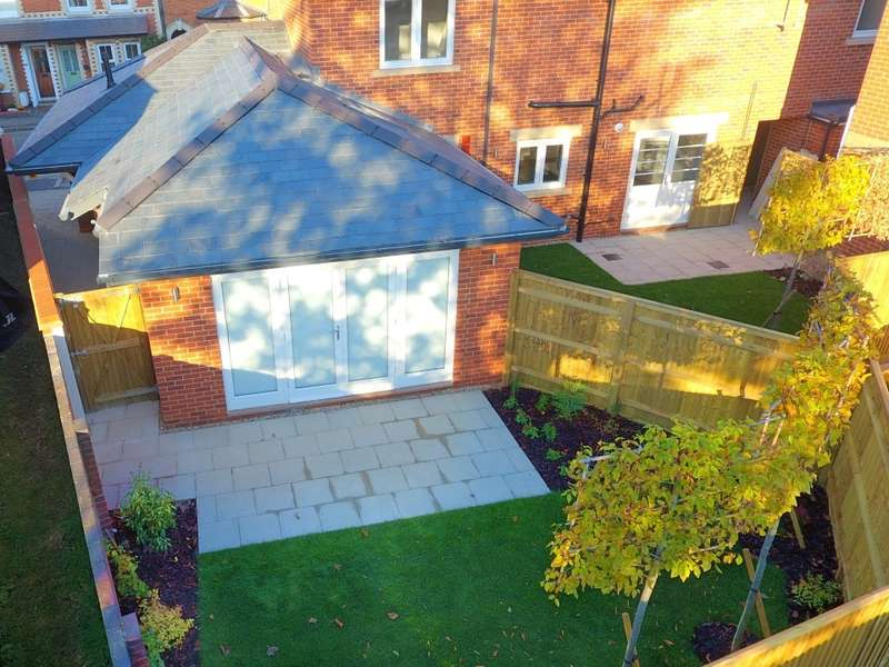 1 Bedroom Semi Detached Bungalow for sale in The Bakehouse, Rectory Road, Caversham, Reading, RG4