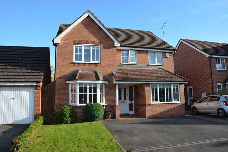 4 Bedrooms Detached House for sale in Aqua Place, Rugby Town Centre