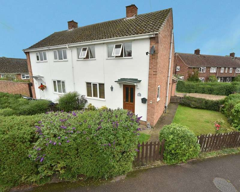 3 Bedrooms Semi Detached House for sale in Croft Place, Mildenhall, Bury St. Edmunds