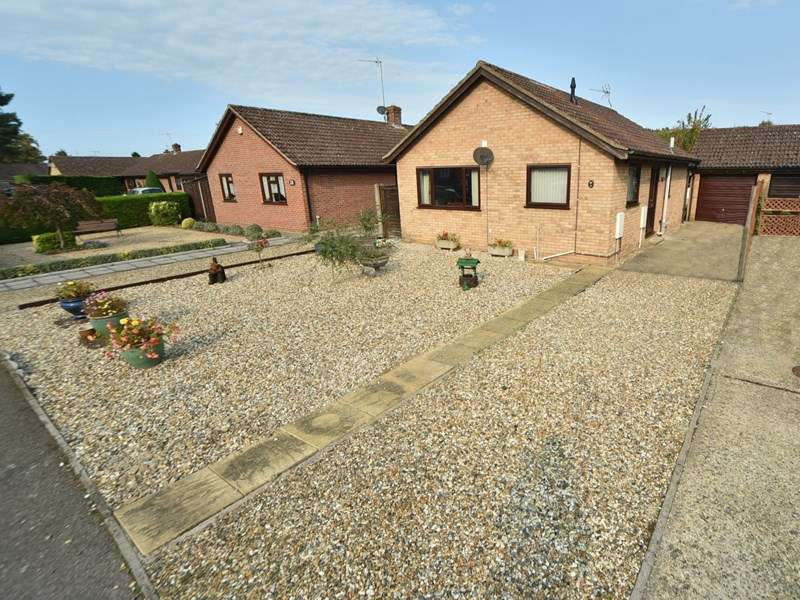 2 Bedrooms Detached Bungalow for sale in Mulberry Close, Bury St. Edmunds